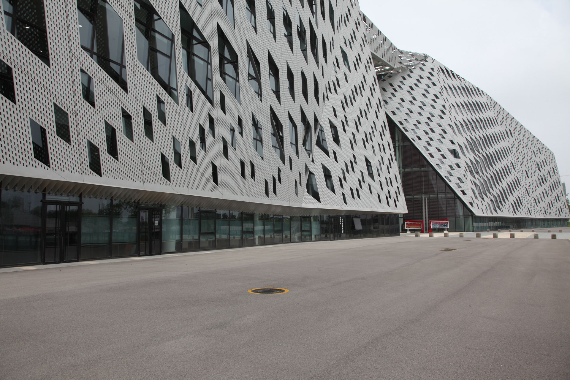 Empty Jinan Museum